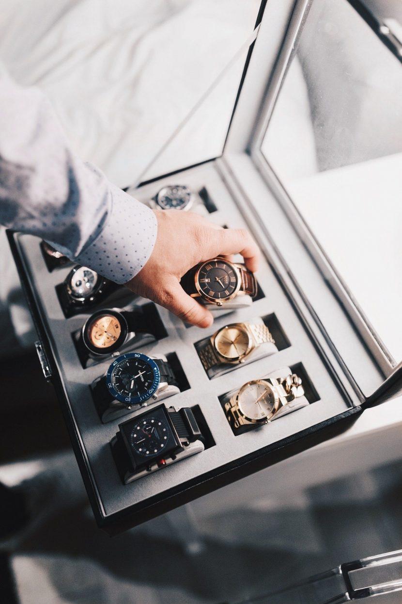 Boîte à montres de luxe